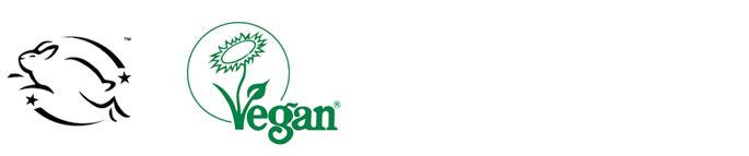 vegan beauty web logos image