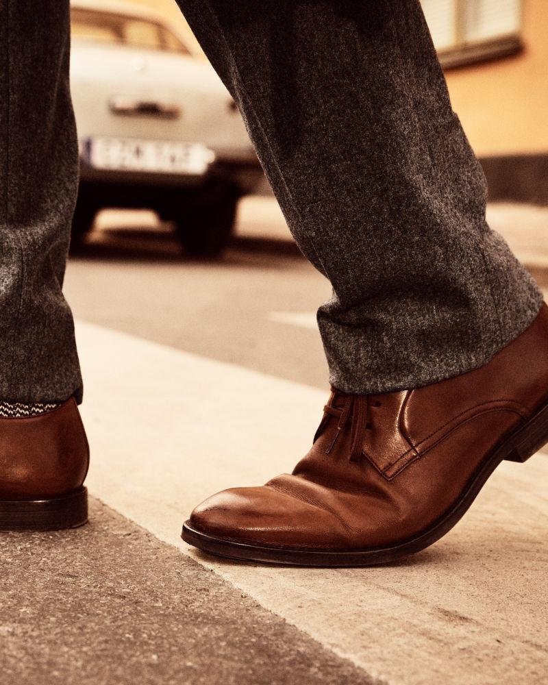 Clarks - Ronnie Walk Tan Leather