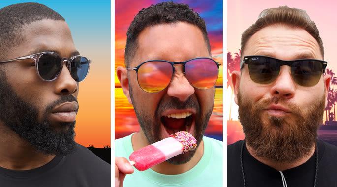 men's sunglasses web content image