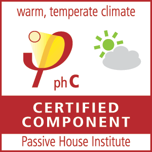 Passive House Certificate for warm temperate climate