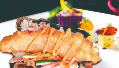 HappyFish Sushi tacos