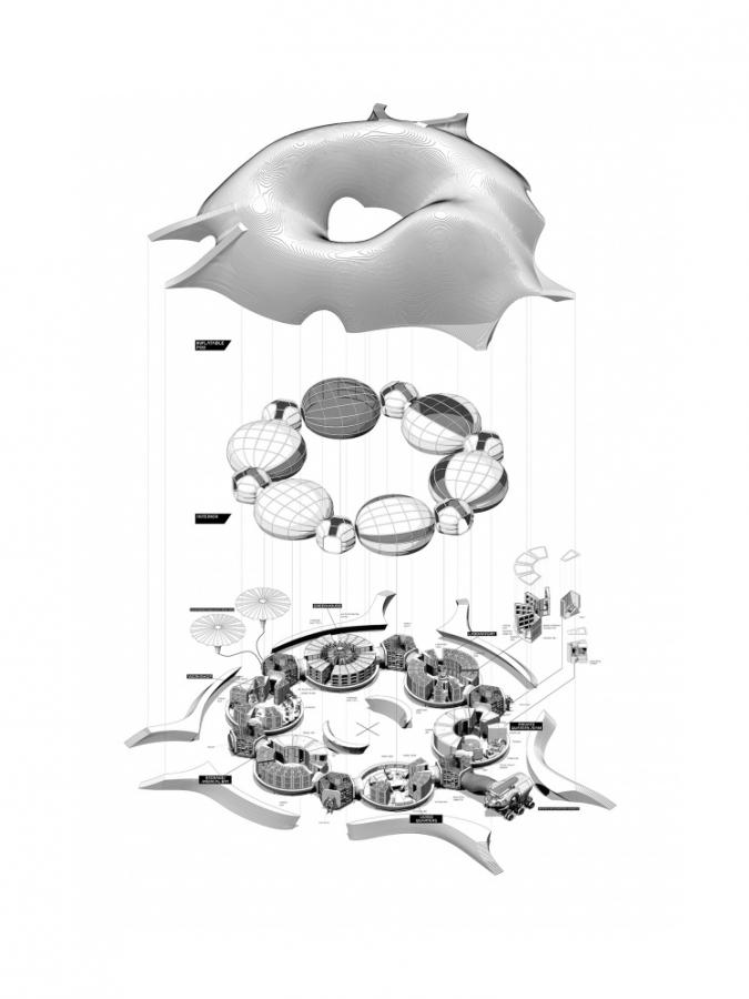 Hassell's Mars habitat design.