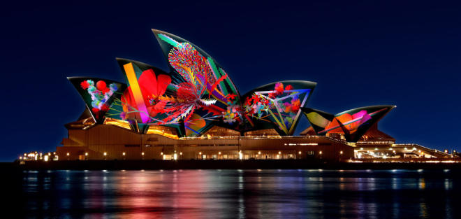 Five things every designer should do at Vivid Sydney