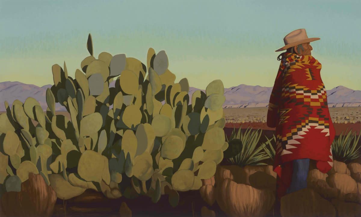 Arizonaland, 20x40in, oil on canvas, 2019
