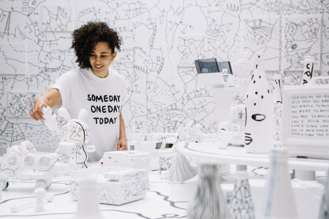 Between the lines: a conversation with Shantell Martin