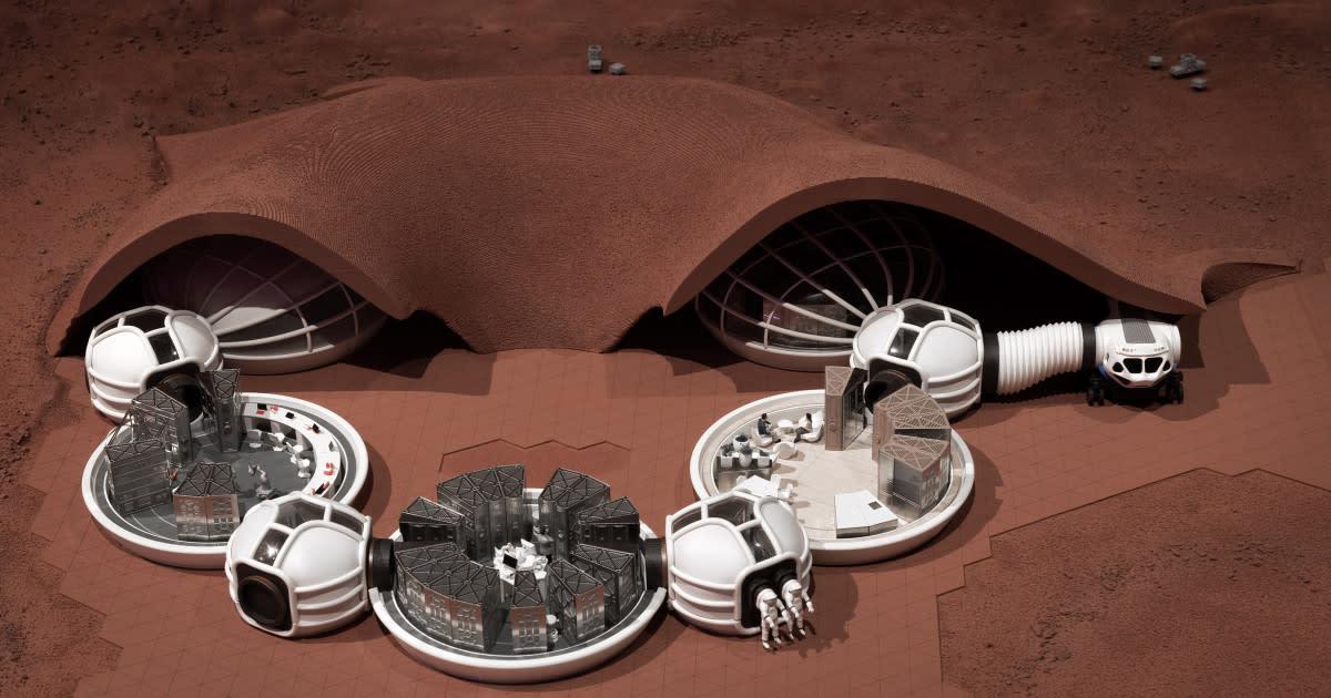 Xavier De Kestelier talks architecture in space