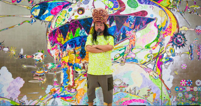 Takashi Murakami and the cure for restlessness