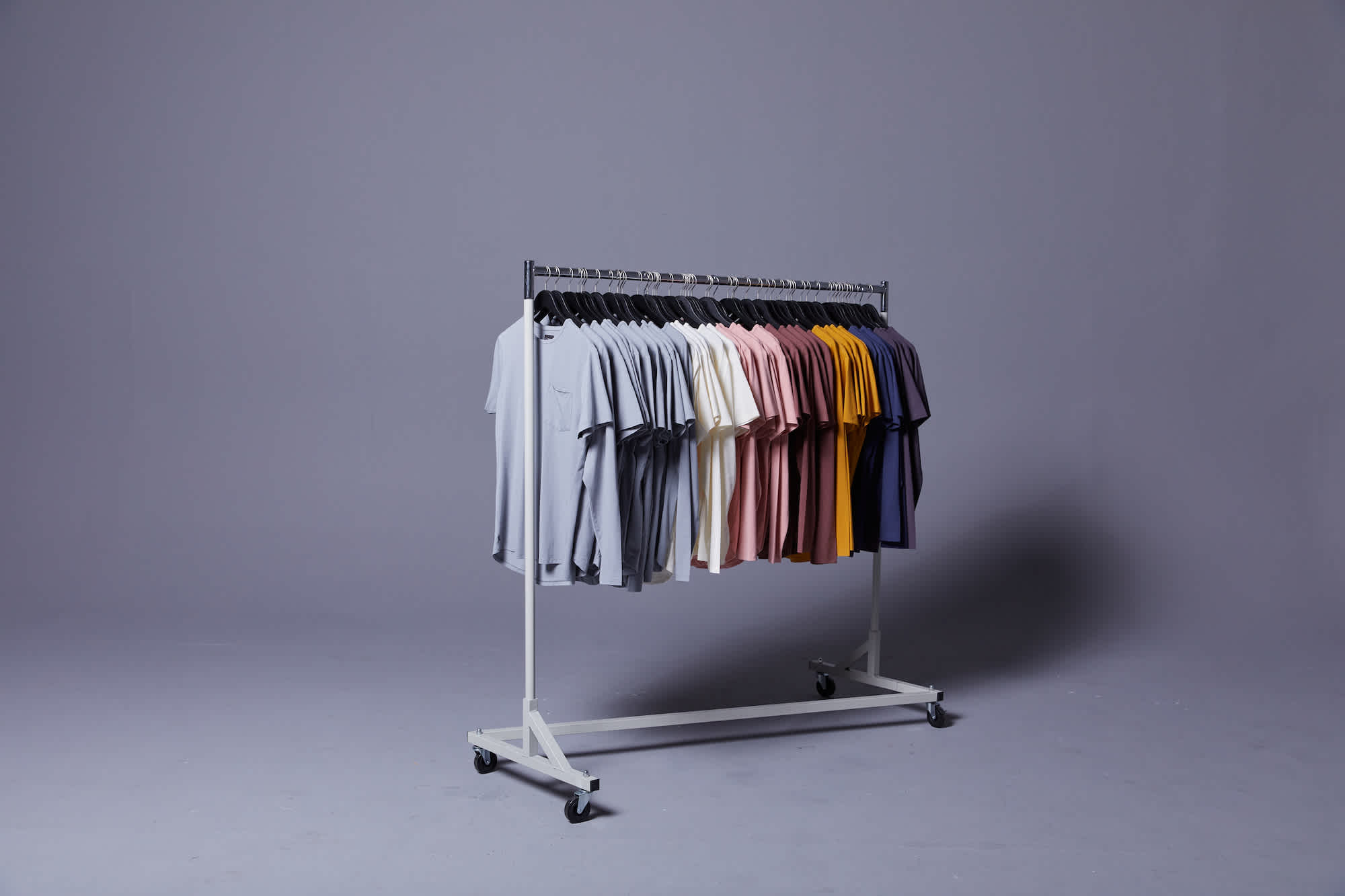 Summer Shirt Rack
