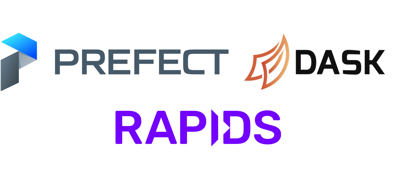 Scheduling & Optimizing RAPIDS Workflows with Dask and Prefect