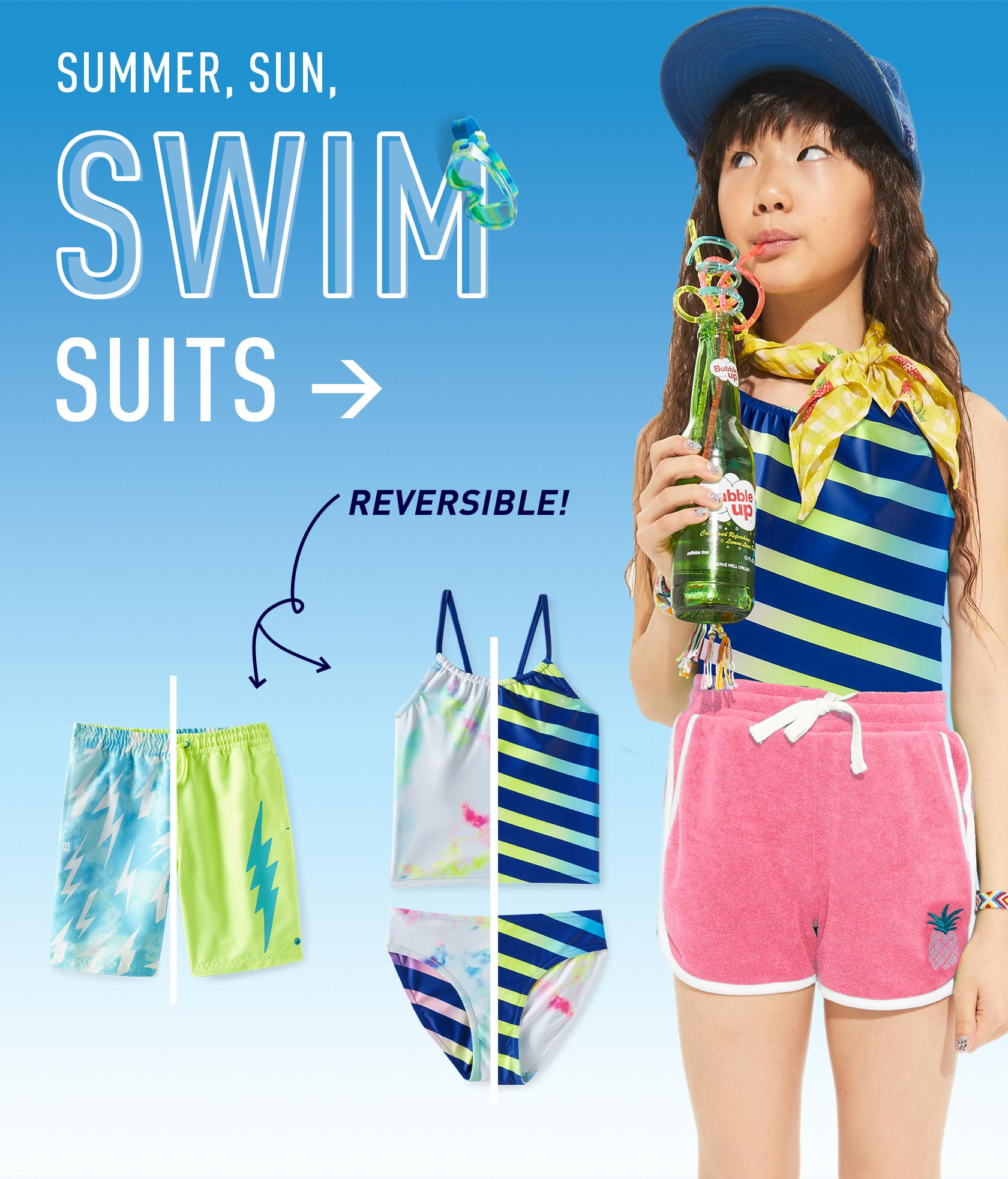 Buy more and Save on Swimwear.