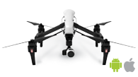 DJI Inspire 1 is one of the best drones for aerial mapping using Pix4Dcapture