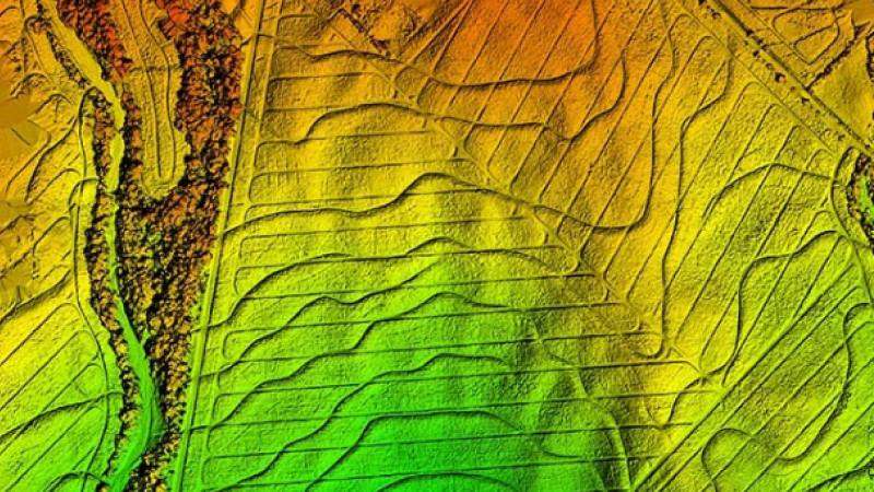 Erosion control using agriculture mapping use case