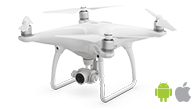 DJI PHANTOM 4 drone flight planning app for drone mapping