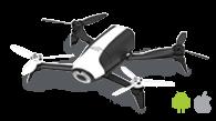 Aplicación de planificación de vuelo para Parrot Bebop 2