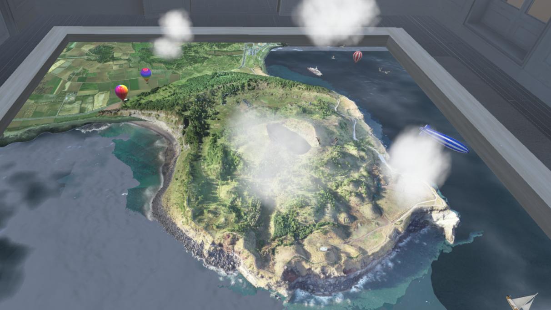 Jeju Island recreated in 3D