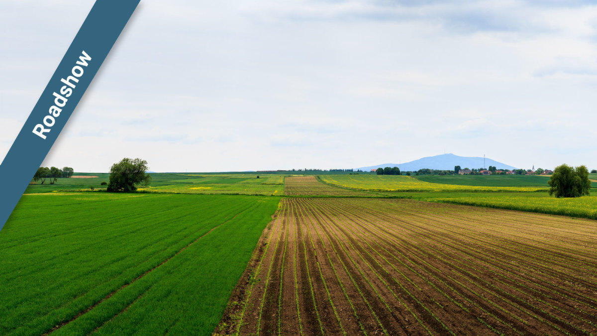 Roadshow event for agriculture mapping in Germany
