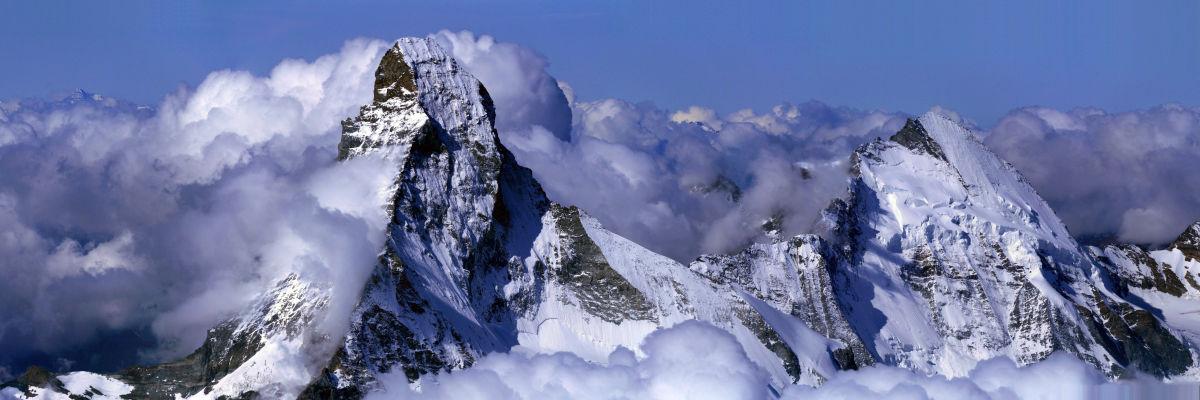 Matterhorn: By chil, camptocamp.org CC BY-SA 3.0  via Wikimedia Commons