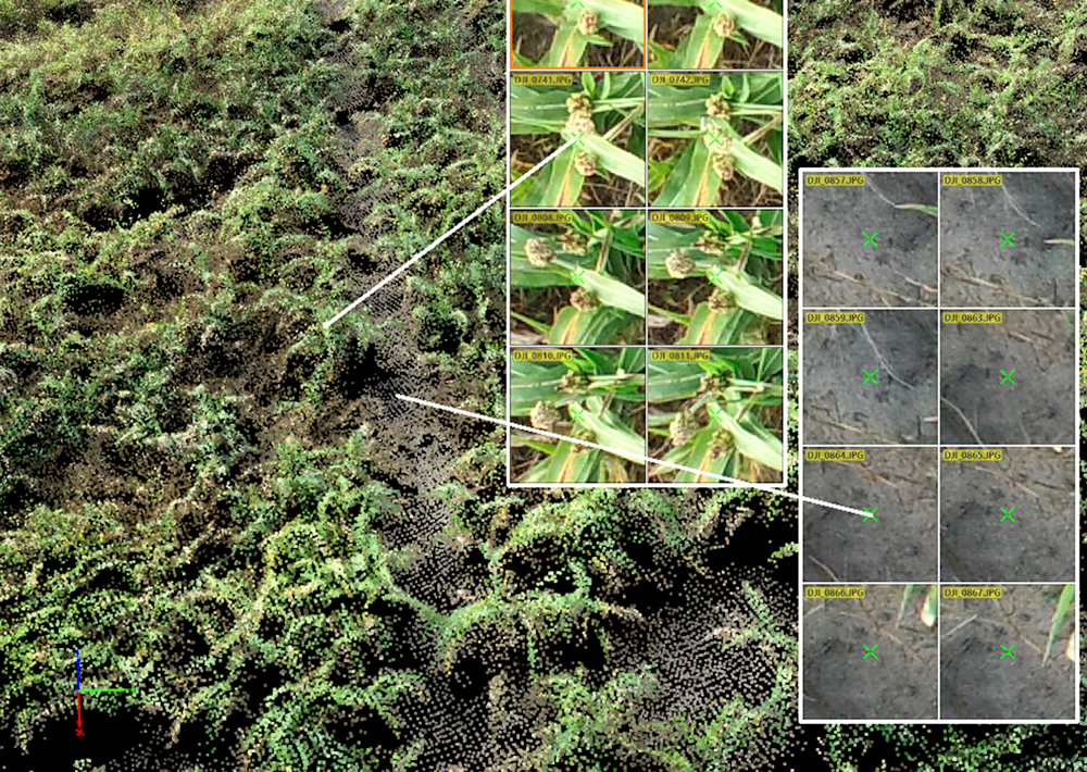 collecting high resolution and detailed imagery on trial plots
