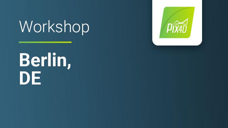 Pix4Dmapper Essentials in Berlin Germany