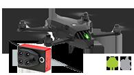 El dron Bluegrass funciona mejor para el mapeo térmico aéreo utilizando la aplicación móvil Pix4Dcapture y la cámara Parrot Sequoia+
