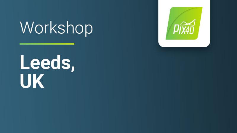 Pix4Dmapper In-depth in Leeds UK