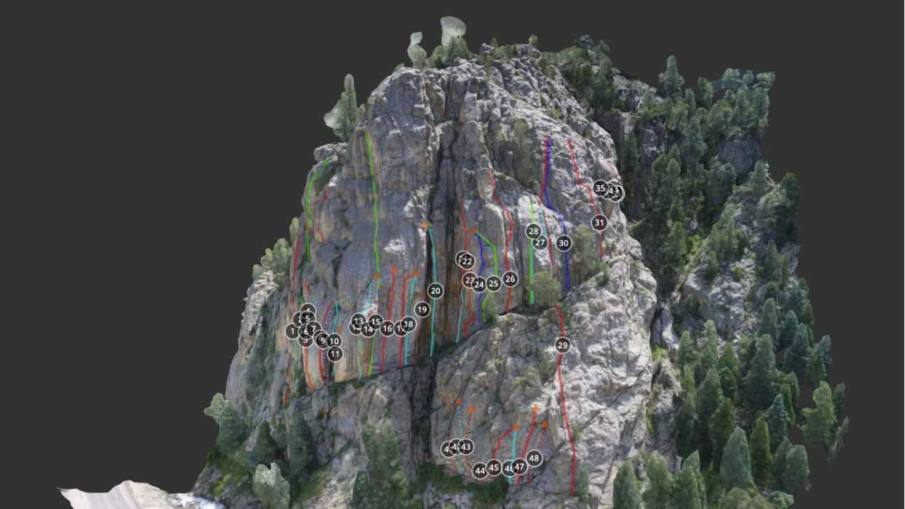 Rock-climbing-routes-modelled-in-3D-with-Pix4D