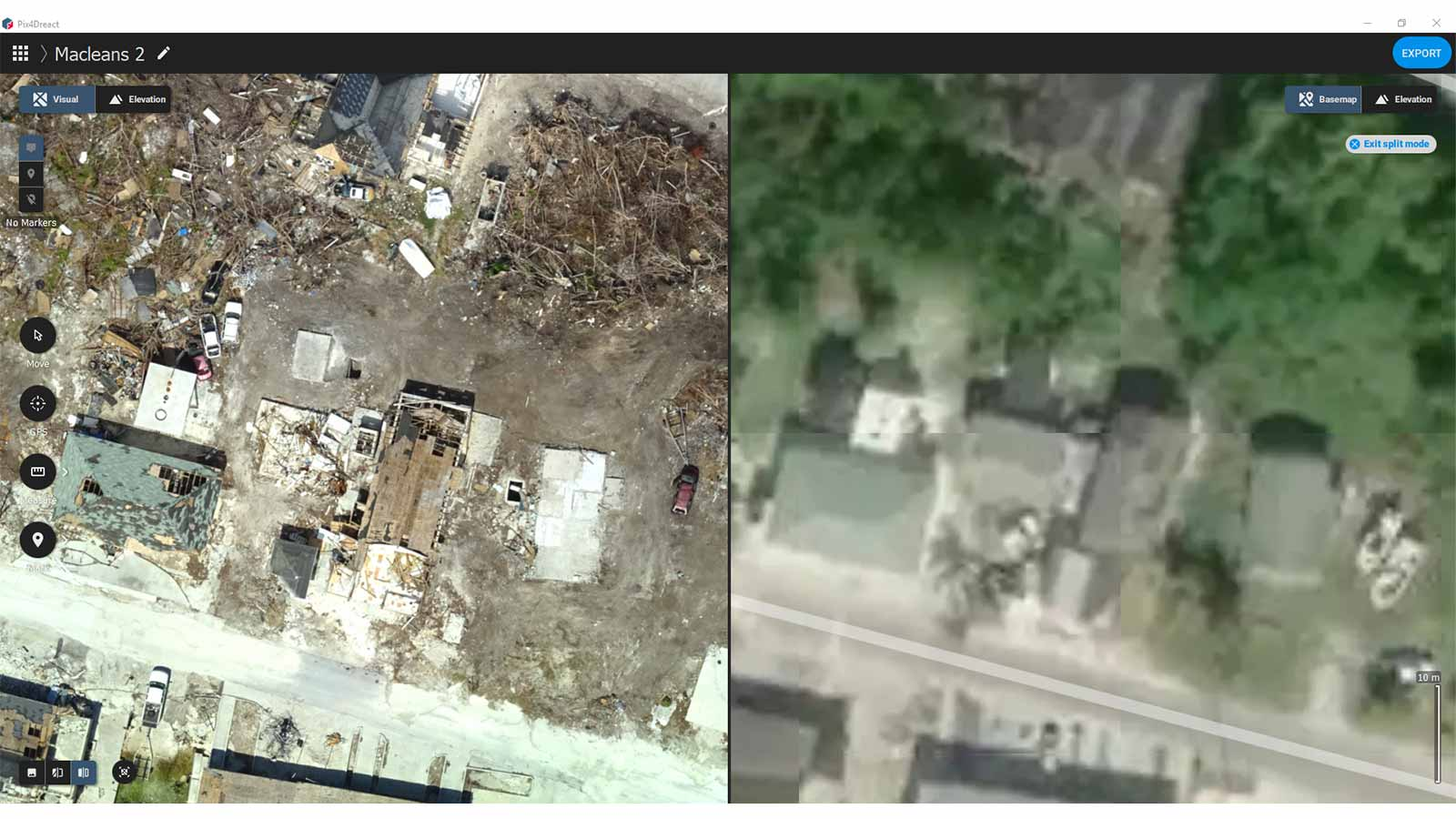 Before-and-after-hurricane-destruction