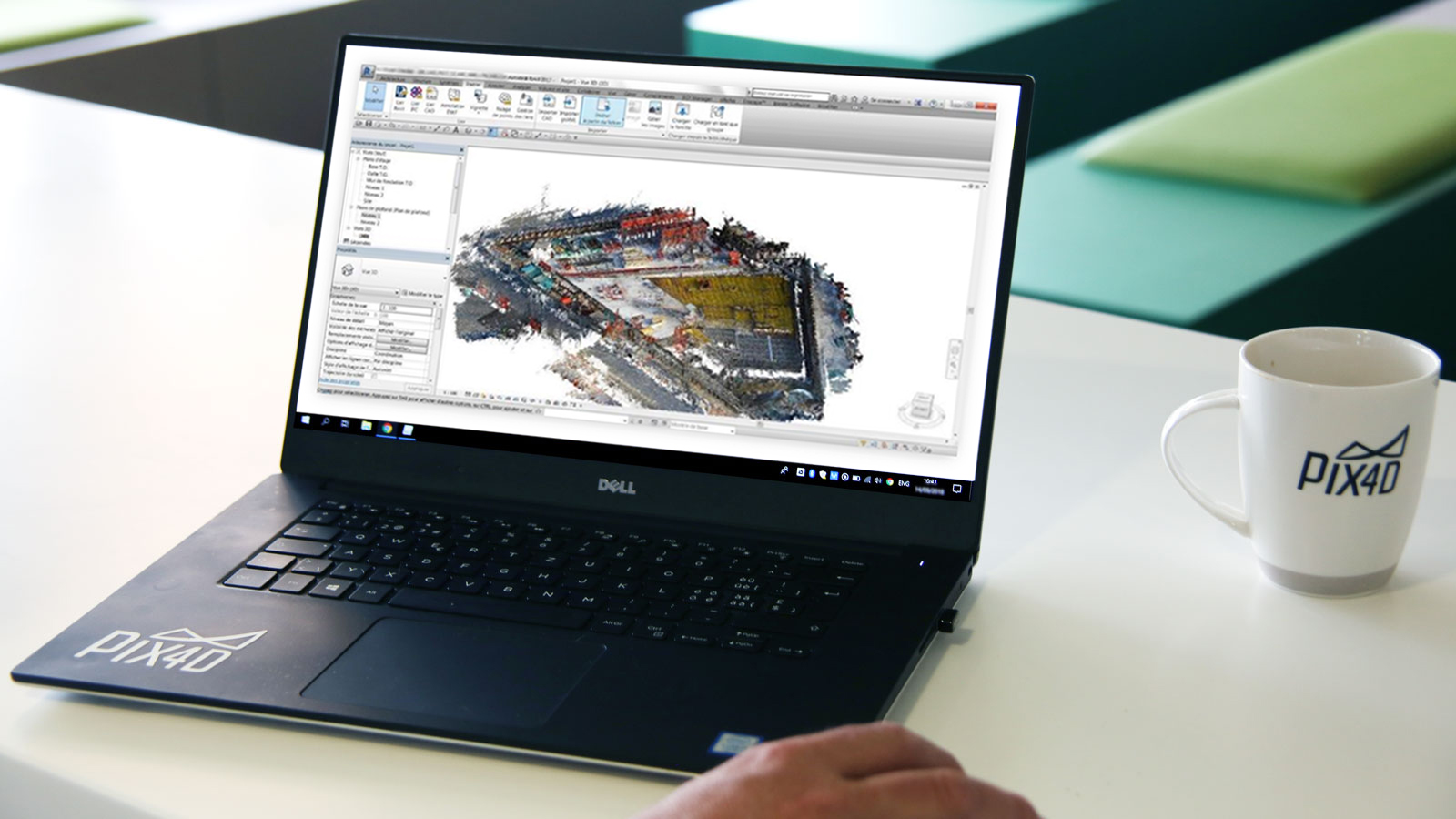As-built data for 4D BIM measurement