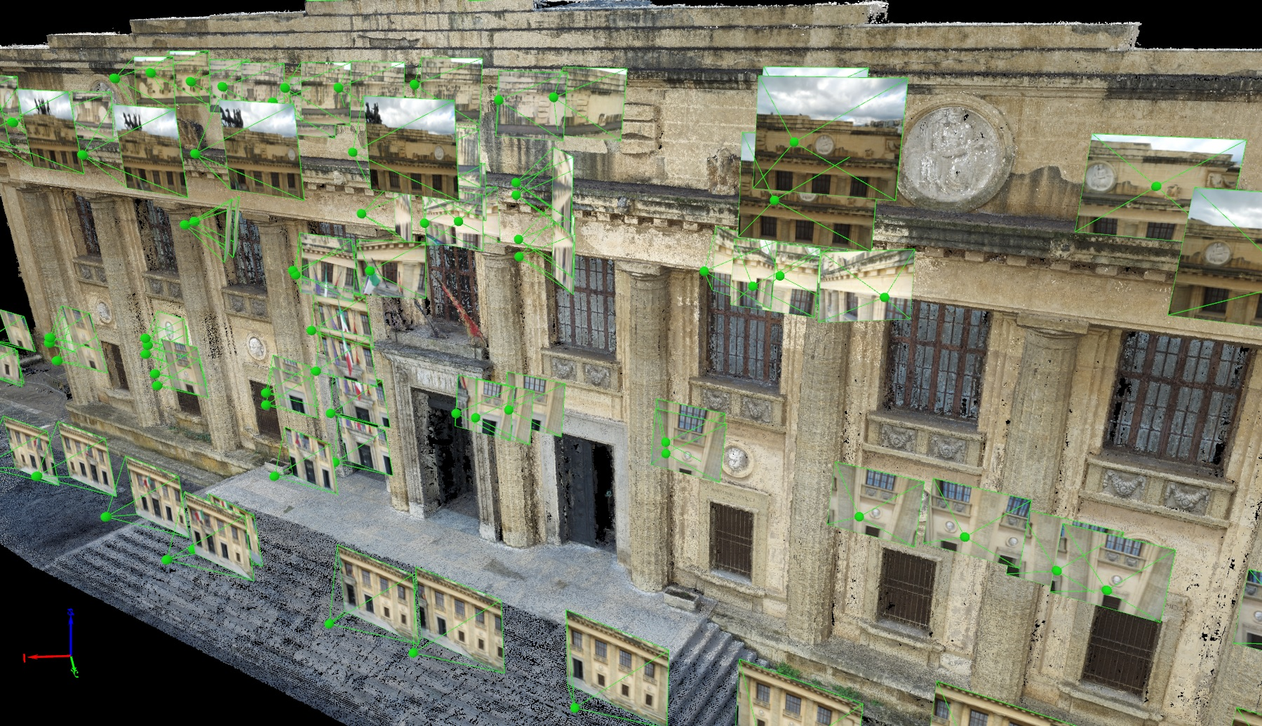 Pix4Dmapper orthoplane for an Italian facade inspection | Pix4D