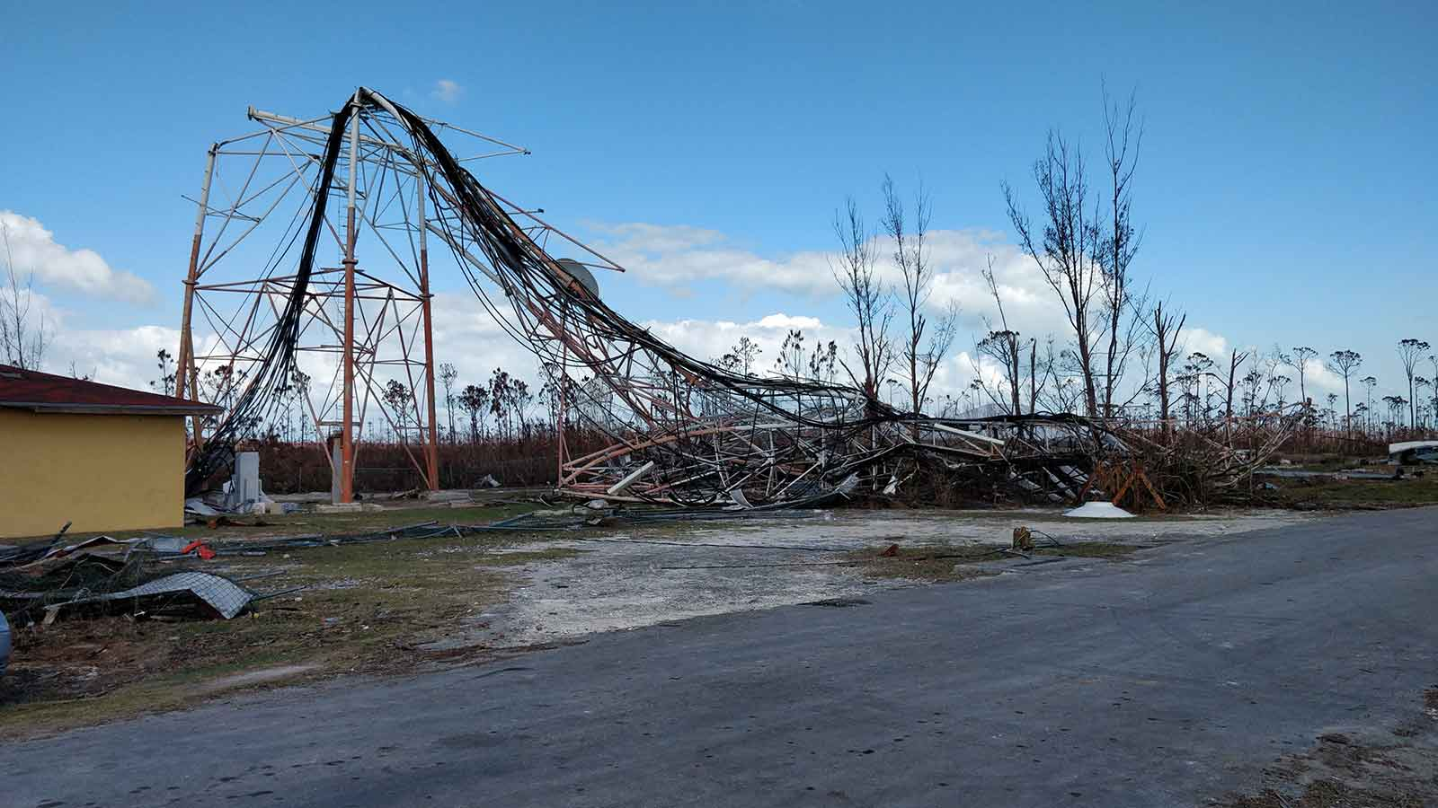 Damage-to-infrastructure-after-a-hurricane