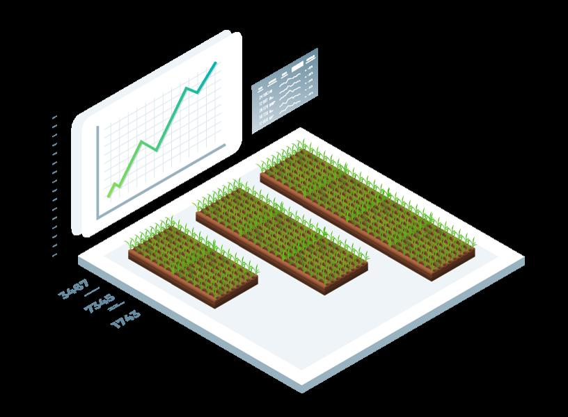 Analyse landwirtschaftlicher Nutzflächen