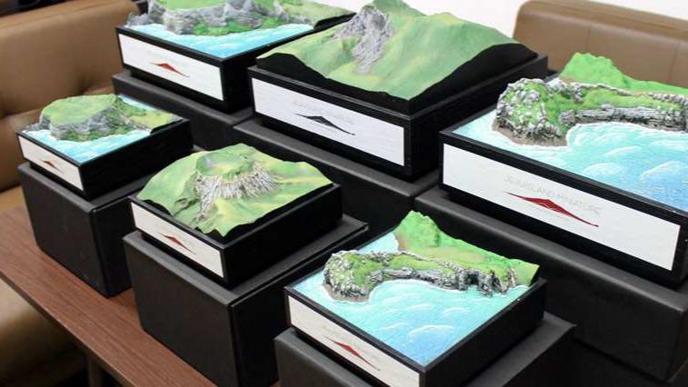 3D-printed-copies-of-Jeju-Island-korea