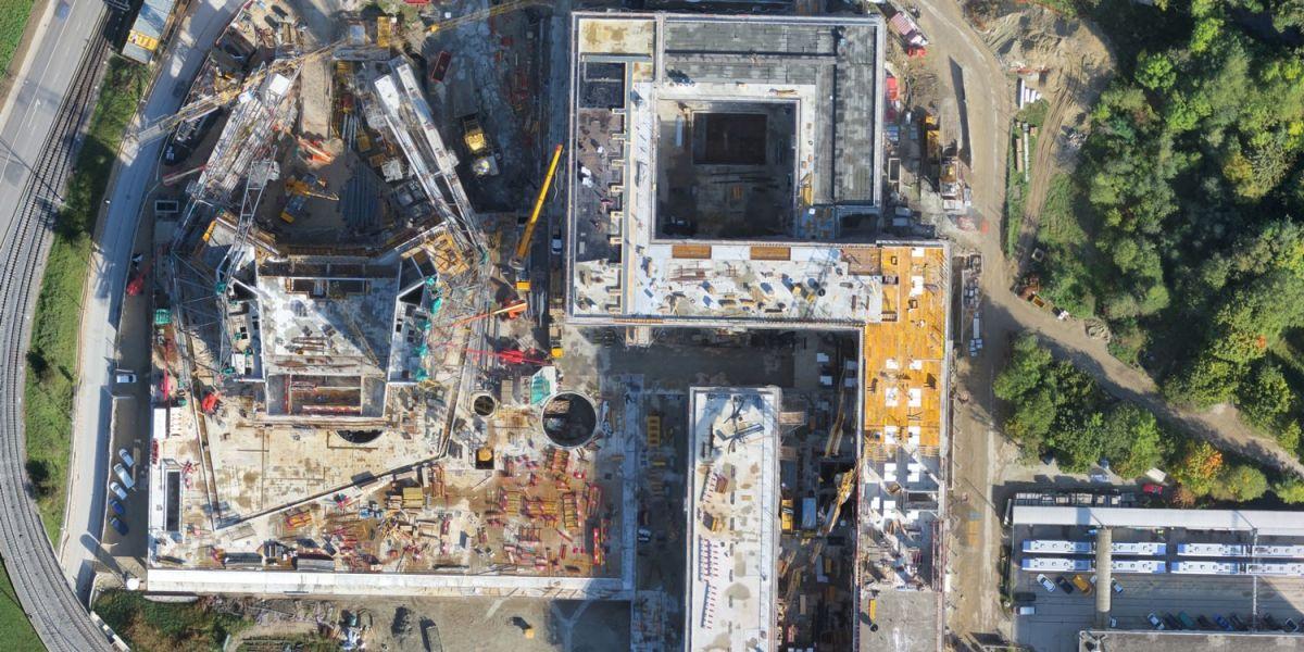 Aerial image data revolutionizes construction sites