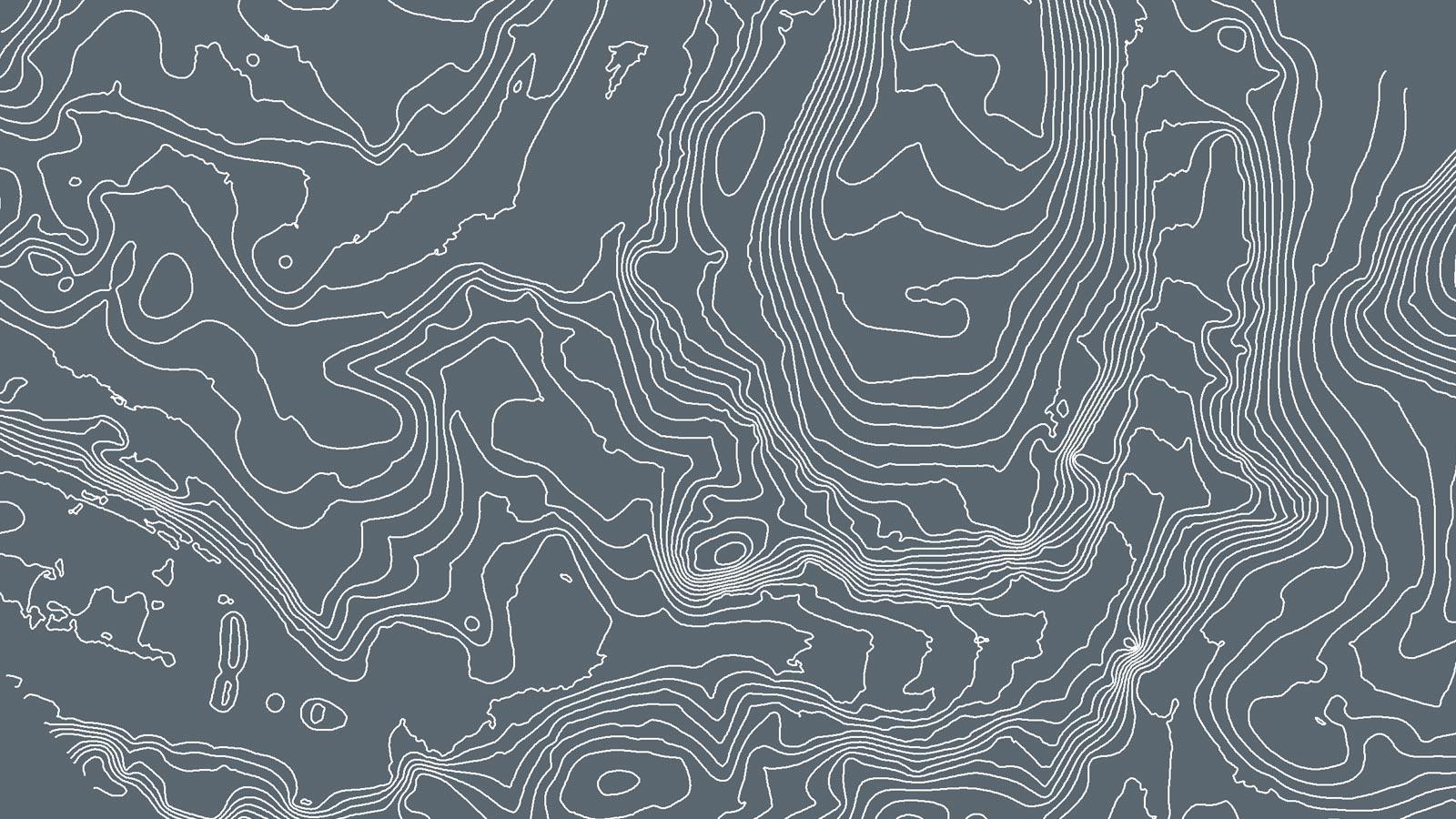 Pix4Dmapper output:  contour lines