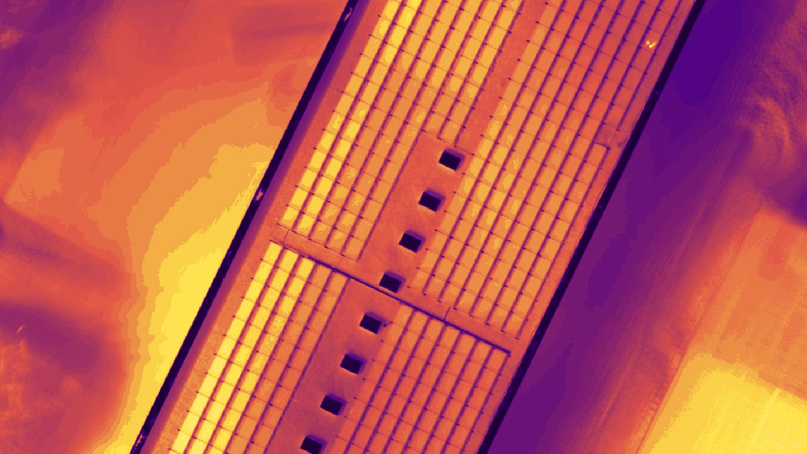 Pix4Dmapper output: thermal maps