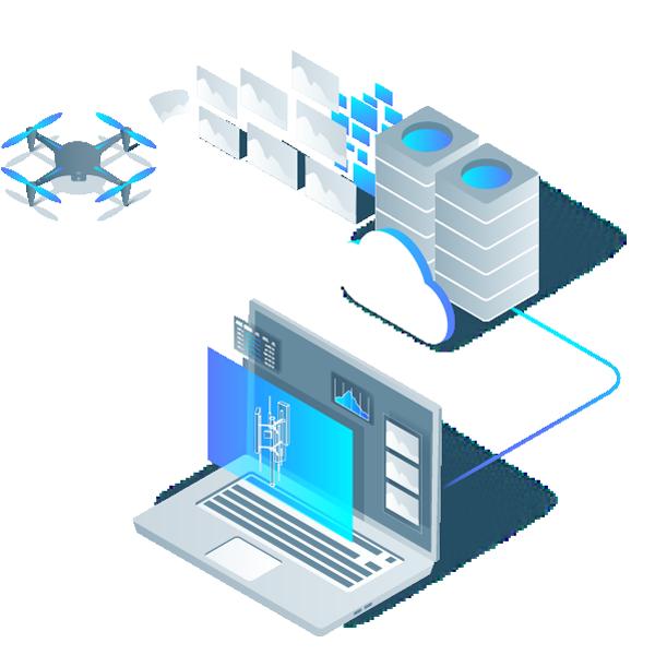 Daten zur Cloud hochladen und Modelle inspizieren