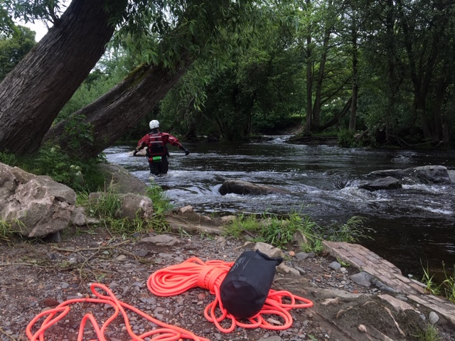Water rescue in Essex river with the help of drone mapping by Pix4d