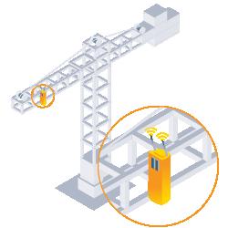 crane camera installed