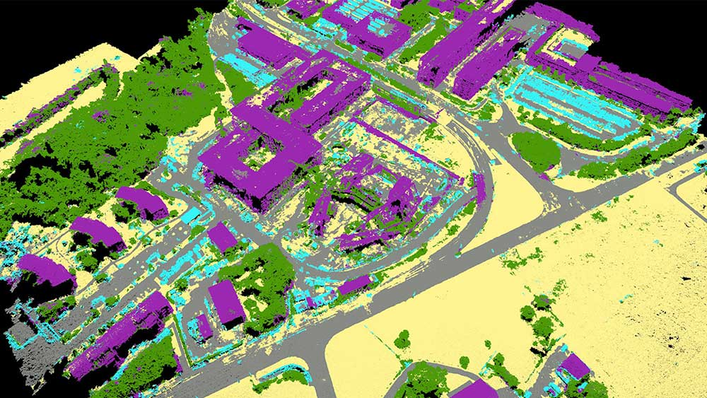 Point cloud classification