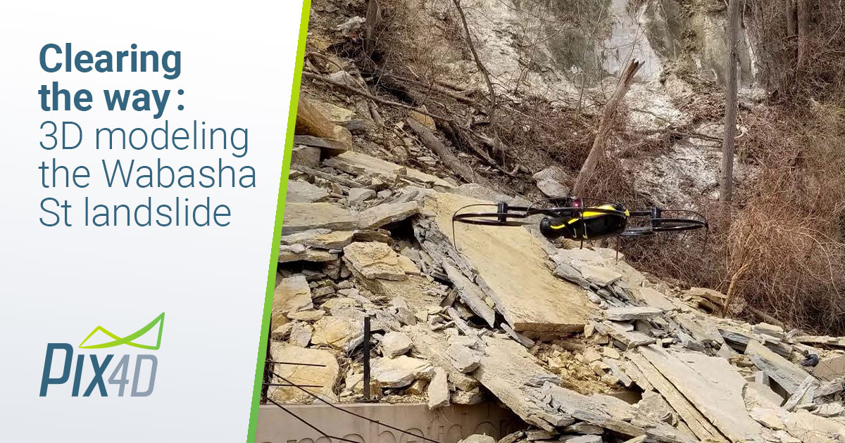 MAPPER Clearing-the-way-3D-modeling-the-Wabasha-St-landslide 2018