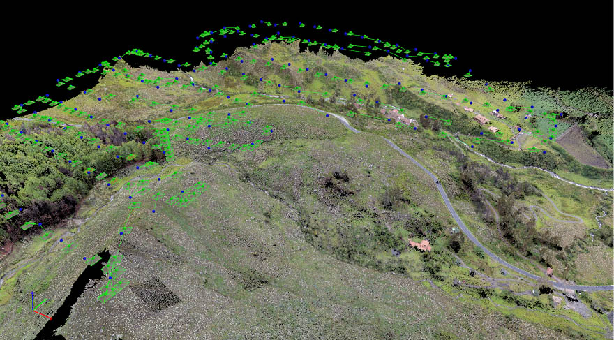 Drone mapping the structural geology of Boconó Fault | Pix4D on