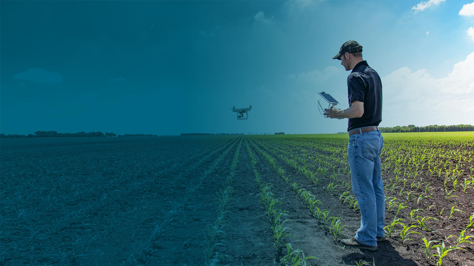 Pix4DFusion drone rental agriculture hero 2