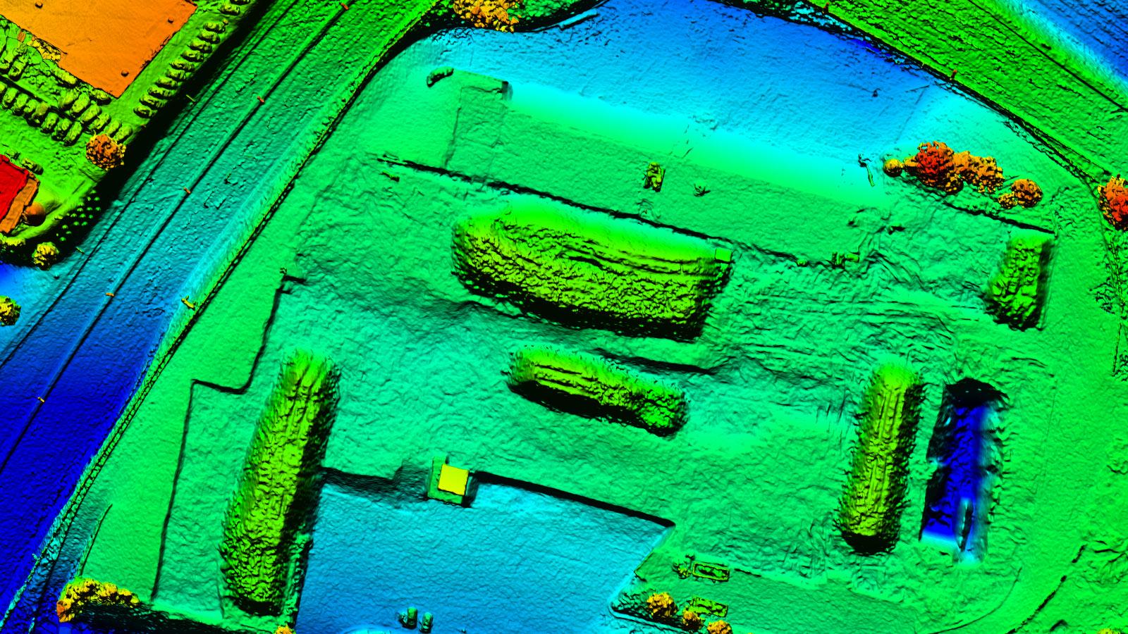 Pix4Dbim outputs Digital surface model