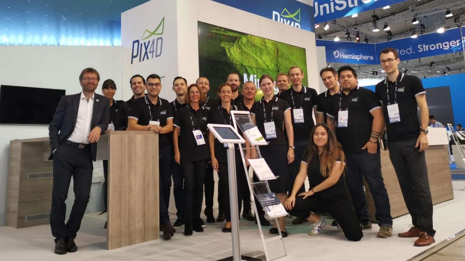The-Pix4D-team-at-intergeo