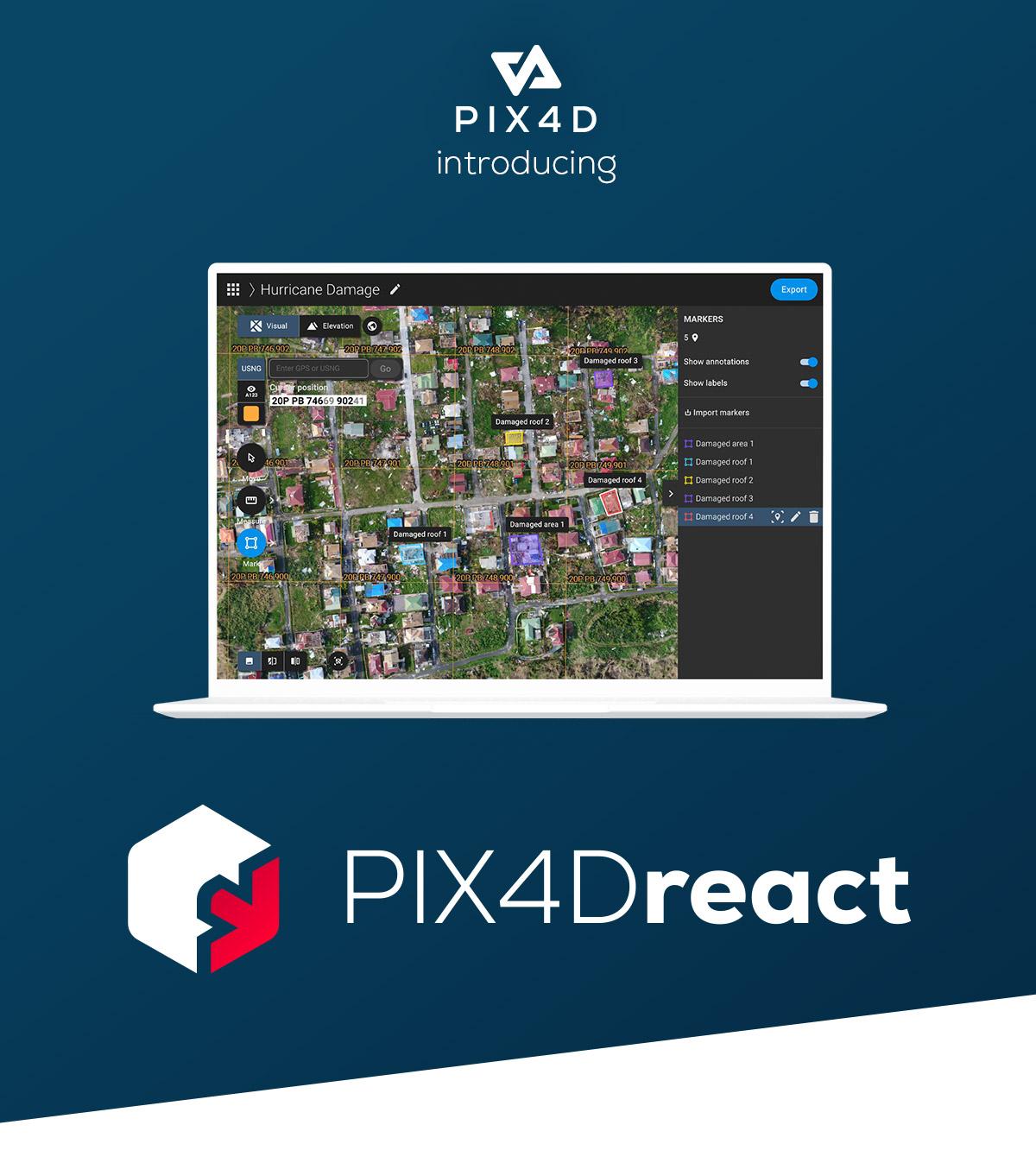 Pix4Dreact for education
