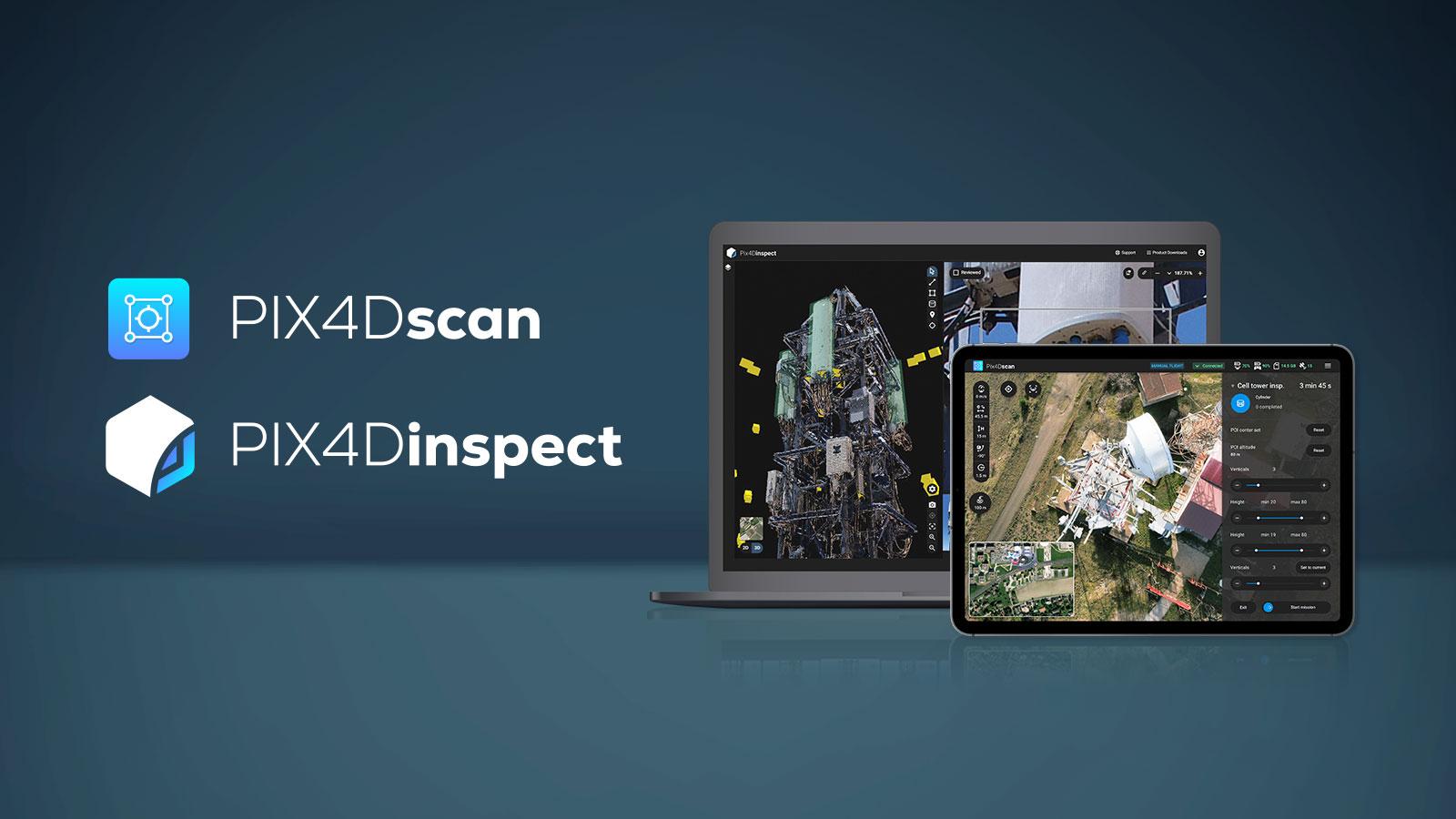 PIX4Dscan and PIX4Dinspect revolutionize asset inspection