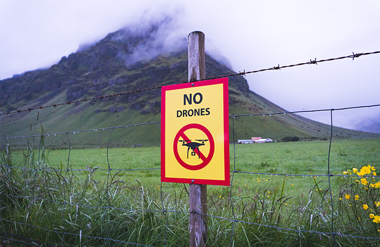 Drone flight regulations