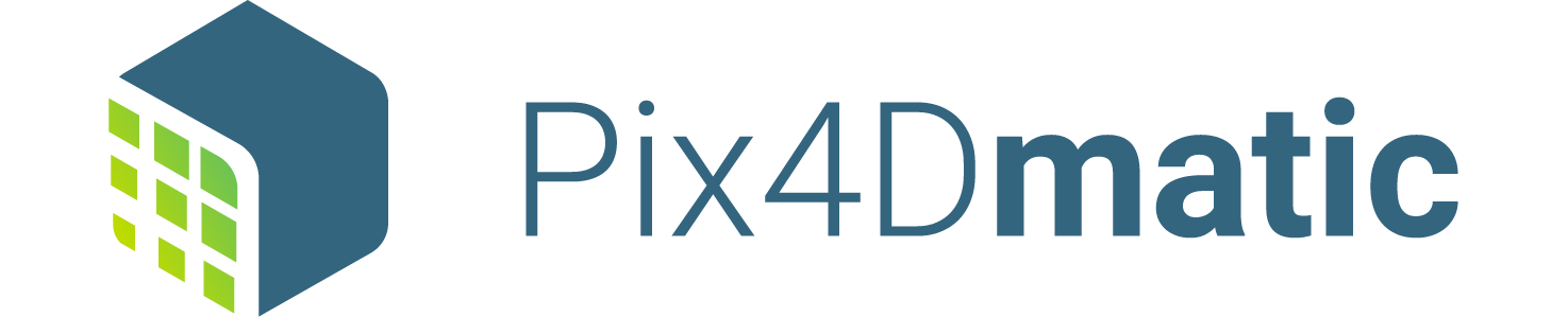 Pix4Dmatic logo