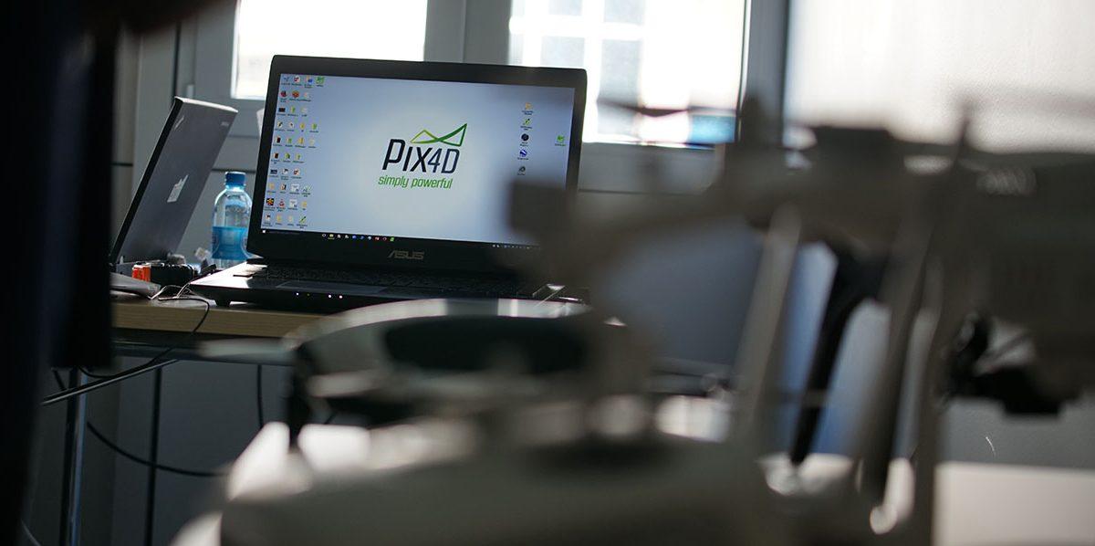 Pix4D on a laptop