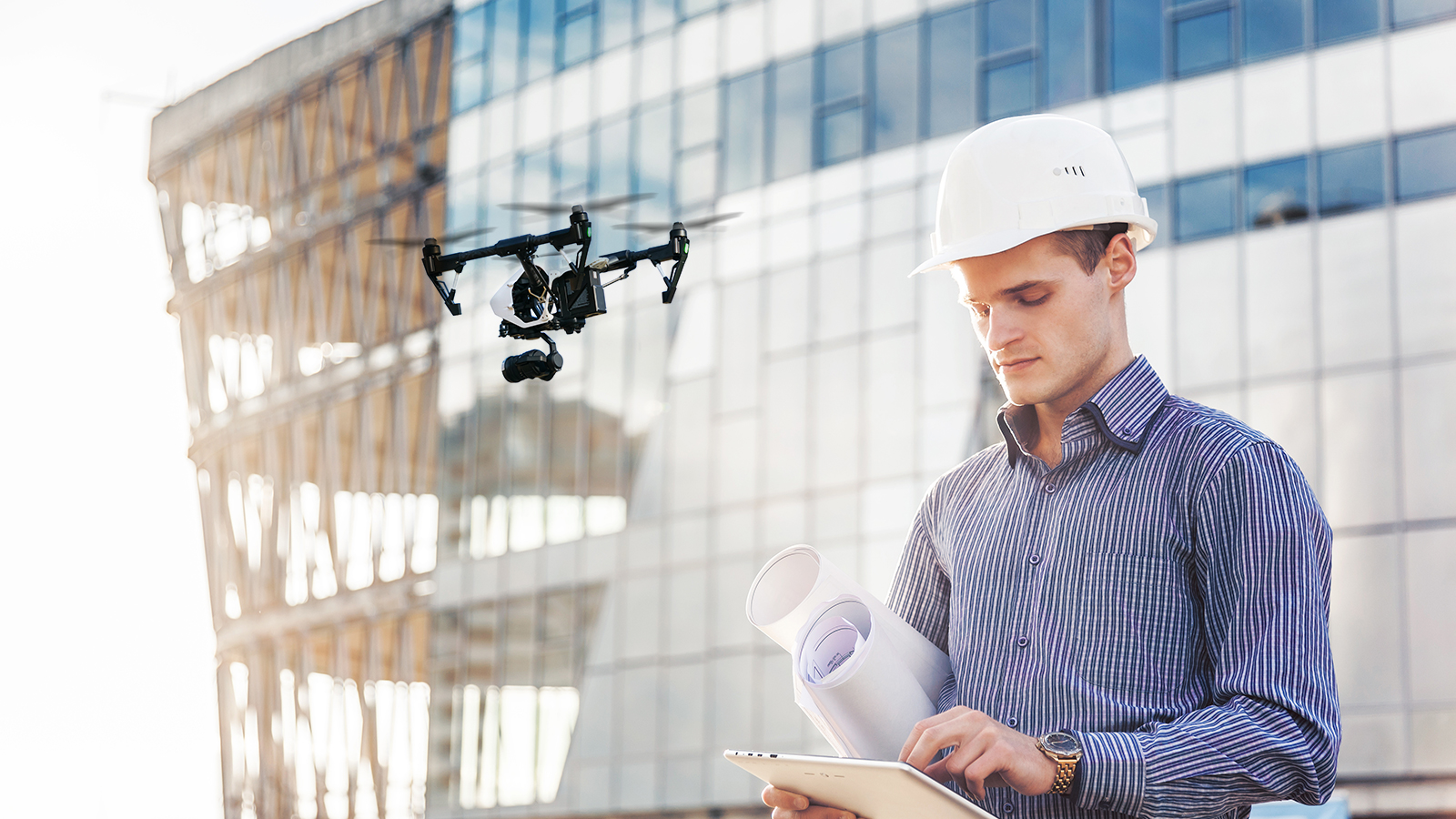 Accelerate project planning with drones